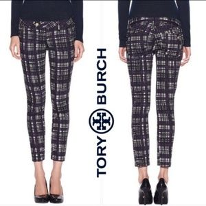 Tory Burch Conner Tab Front Skinny